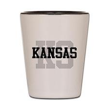 KS Kansas Shot Glass