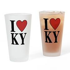 I Love Kentucky Pint Glass