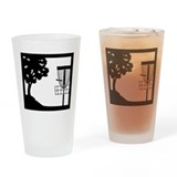 Disc Golf Pint Glass