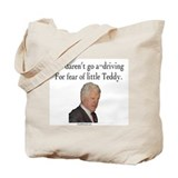 Fear of Little Teddy Tote Bag