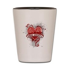 Love New Jersey Shot Glass