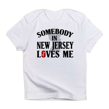Somebody In New Jersey Infant T-Shirt