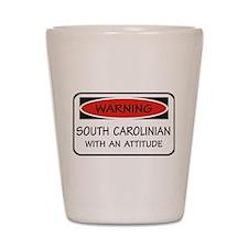 Attitude South Carolinian Shot Glass