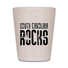 South Carolina Rocks Shot Glass