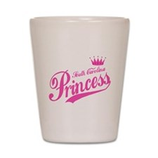 South Carolina Princess Shot Glass