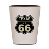 Texas Route 66 Shot Glass