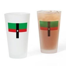 Denison Flag Pint Glass