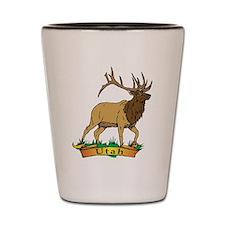 Utah Elk Shot Glass