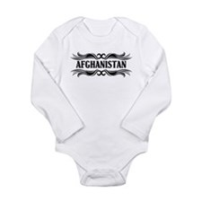 Tribal Afghanistan Long Sleeve Infant Bodysuit
