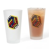 I am 80's -- Pint Glass