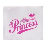 Albanian Princess Throw Blanket