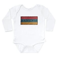Vintage Armenia Long Sleeve Infant Bodysuit
