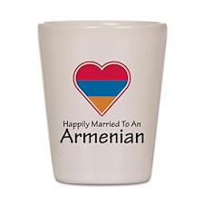 Happily Married Armenian Shot Glass