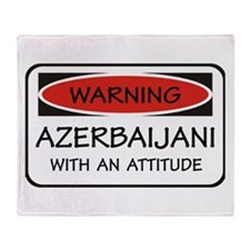Attitude Azerbaijani Throw Blanket