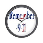 USA - Remember 9-11 Wall Clock