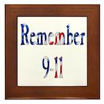 USA - Remember 9-11 Framed Tile