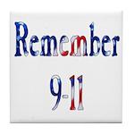 USA - Remember 9-11 Tile Coaster