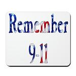 USA - Remember 9-11 Mousepad