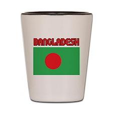 Bangladesh Flag Shot Glass