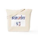 USA - Remember 9-11 Tote Bag