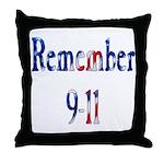 USA - Remember 9-11 Throw Pillow
