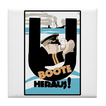 U-Boats Out - War Poster - History Store