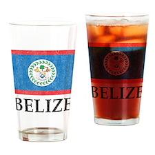 Vintage Belize Pint Glass