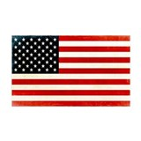 American Flag 38.5 x 24.5 Wall Peel