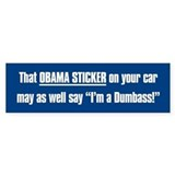 That Obama Dumbass Car Sticker