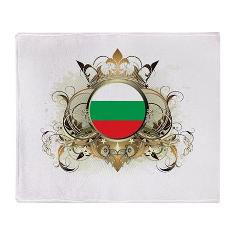 Stylish Bulgaria Throw Blanket