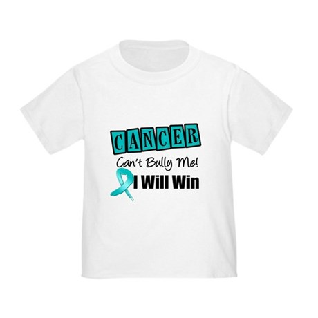 Ovarian Cancer Can't Bully Me Toddler T-Shirt
