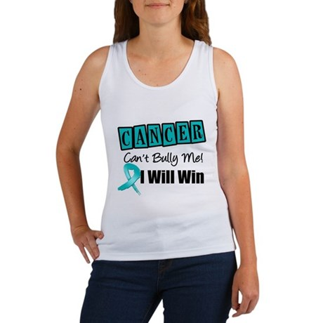 Ovarian Cancer Can't Bully Me Women's Tank Top
