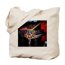 """Voodoo Piano #4"" Tote Bag"
