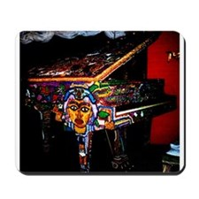 """Voodoo Piano #4"" Mousepad"