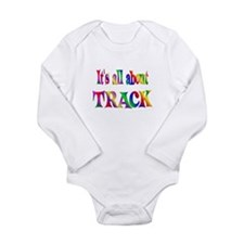 About Track Long Sleeve Infant Bodysuit
