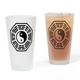 LOST DHARMA Yin Yang Pint Glass