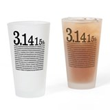 3.1415926 Pi Pint Glass