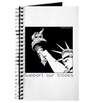 Statue of Liberty /Support Troops Journal