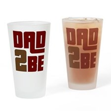 Dad 2 Be Pint Glass
