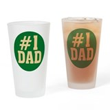 #1 Dad Pint Glass