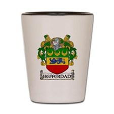 Heffernan Coat of Arms Shot Glass