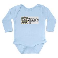 Heffernan Celtic Dragon Long Sleeve Infant Bodysui