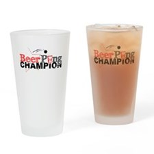 Beer Pong Champion -- Pint Glass