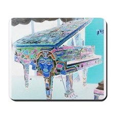 """Voodoo Piano #3"" Mousepad"