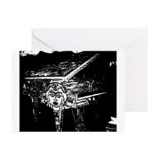 """Voodoo Piano #2"" Greeting Cards (Pk of 10)"