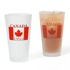 Canada Canadian Flag Pint Glass
