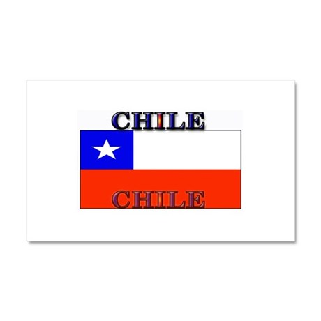 Chile Chilean Flag Car Magnet 12 x 20