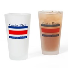 Costa Rica Costa Rican Flag Pint Glass