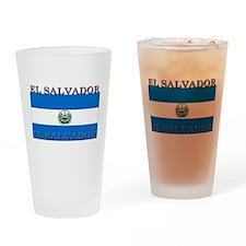 El Salvador Pint Glass