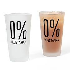 0% Vegetarian Pint Glass